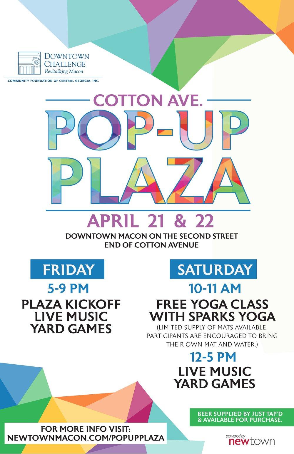 Pop Up Plaza Macon GA