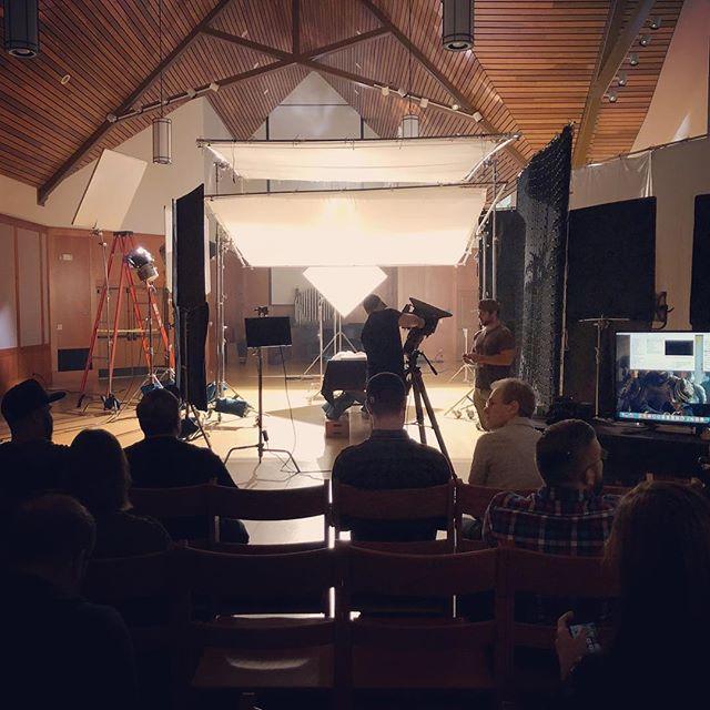 Lighting workshop with Greg Middleton of Game of Thrones. #mim2017 #soundstripe #shooteditlearn