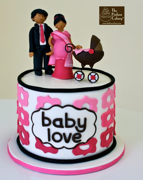 south asian baby cake topper