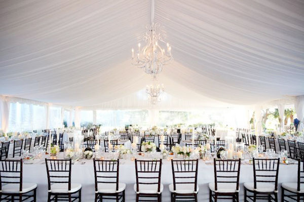 White-Tent-Wedding & Tip of the Day #58: Cardinal Rules of Tent Weddings u2014 Square Mile ...