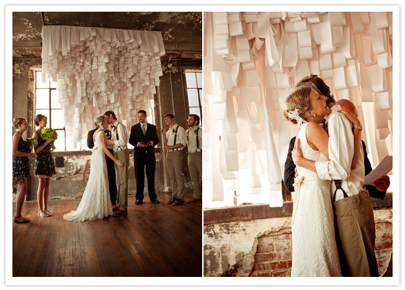 Paper Backdrop - Courtesy of 100 Layer Cake / Scott Townsley Photography