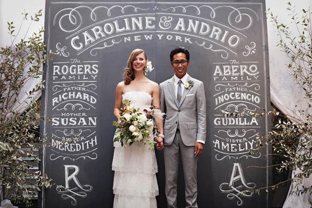 chalkboard-typography-decor-for-wedding-ceremony