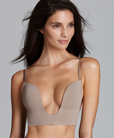 Low Cut Neutral Bra from Simone Perele