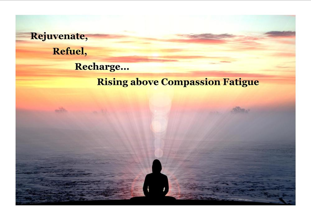 rejuvenate refuel and recharge rising above compassion fatigue