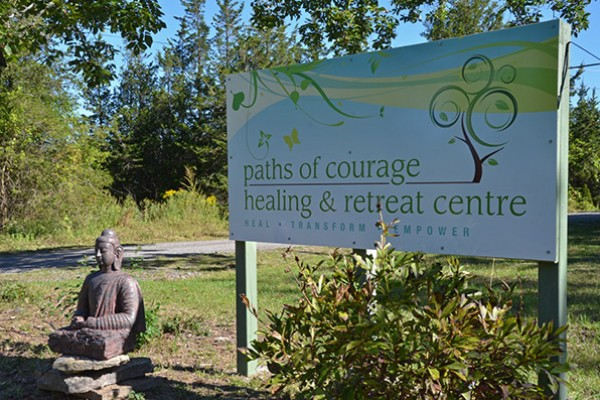 Serenity awaits you at Paths of Courage.