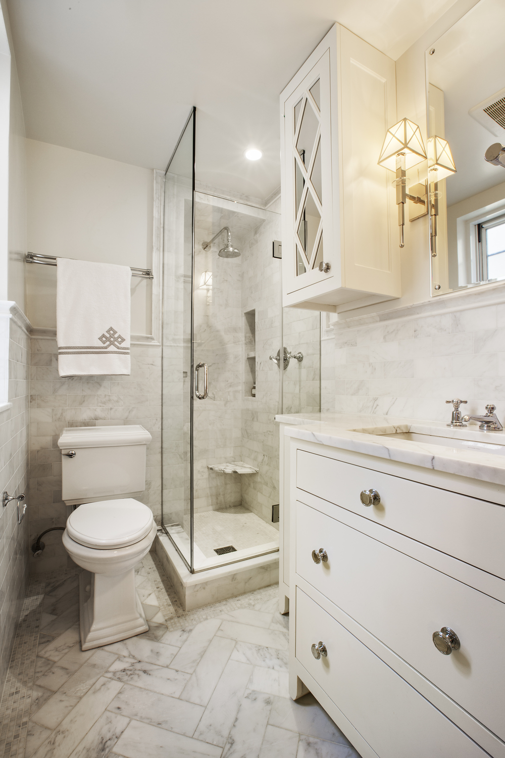 Marble Master Bathroom