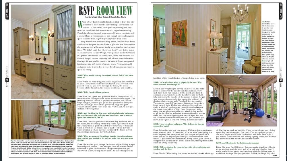 RSVP Magazine - August 2013