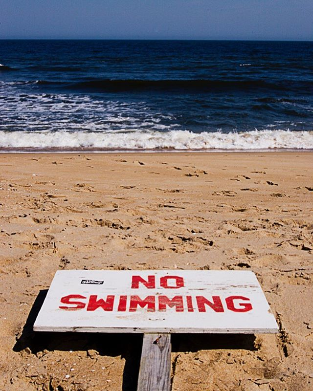 #beach #noswimming #asburypark #asburyparkbeach #summer #color #colorphotography