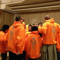 Franciscan Friars of the Renewal Bronx, NY   March for Life sweatshirts.