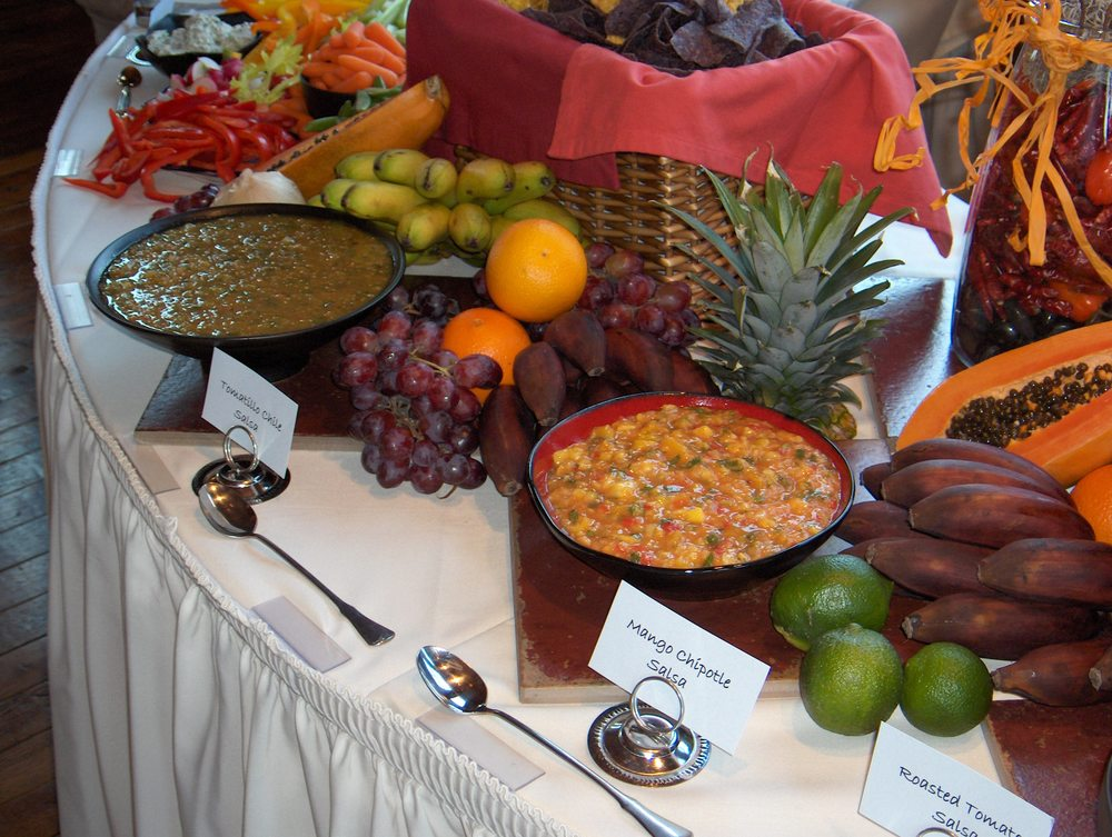 salsa bar close up.JPG