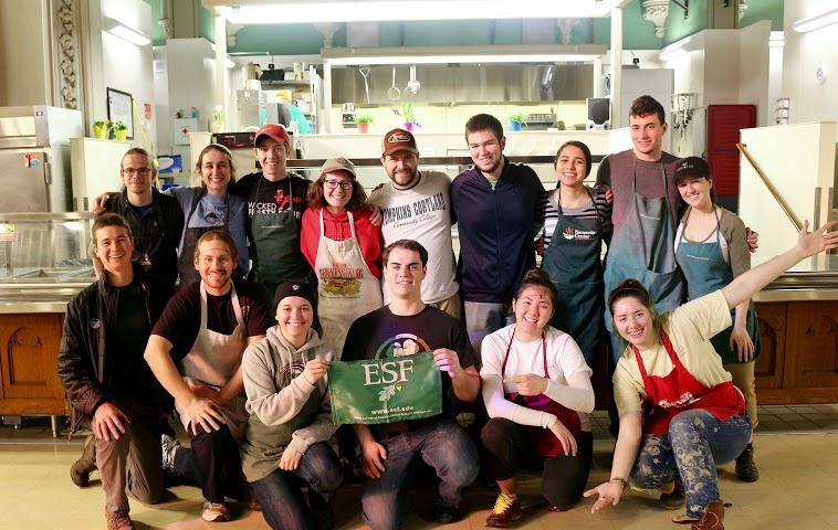 The Crew at the  Samaritan Center