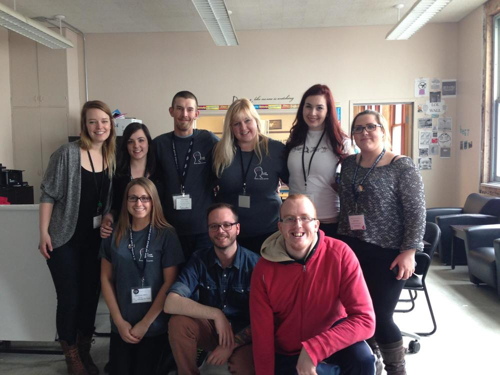 "The Choices for Youth and Youth Leadership Council team at ""Mental Health Matters"""