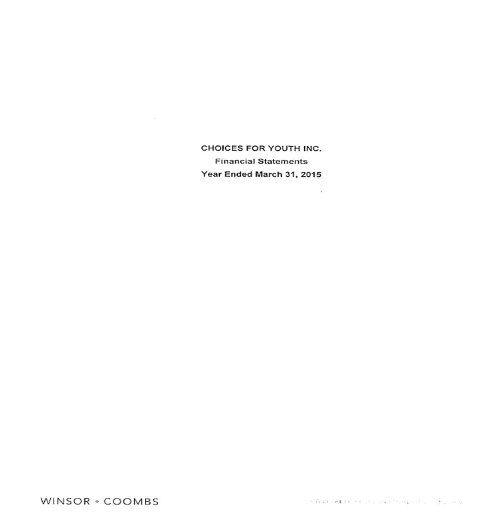 Audited Financials 2014/15