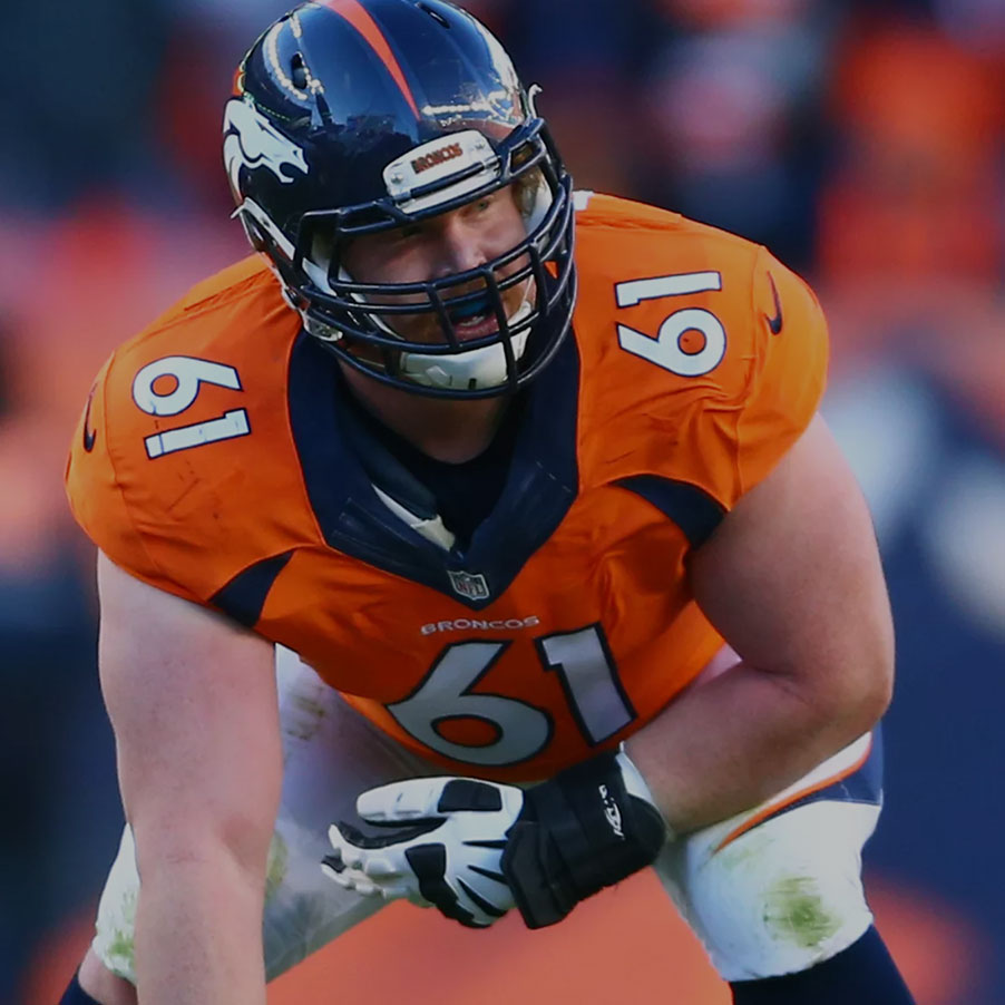 <strong>Matt Paradis</strong><p>Denver Broncos</p>