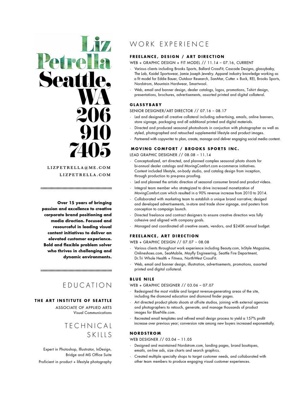 Resume — lizpetrella