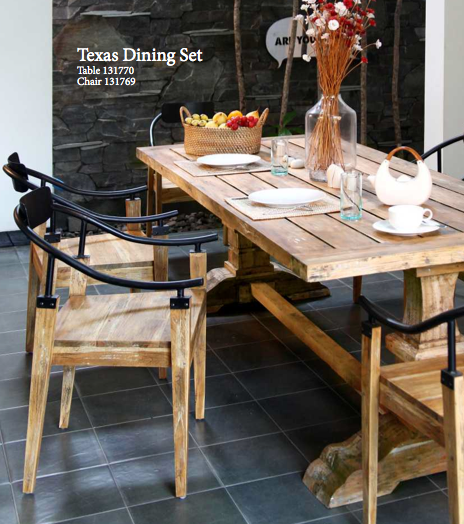 Eclectic Furniture DesignTexas Dining Table Design International