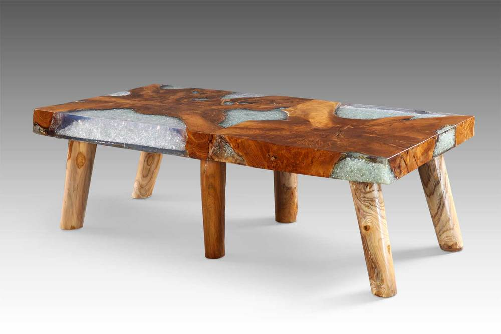 Perfect Glaze Zyre Coffee Table