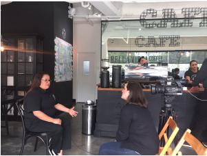 En Bella Vista Coffee Shop zona 10 se dio a conocer el logro de esta catadora Guatemalteca quien luego de catar 8 muestras de 3 tazas cada una durante 8 minutos máximos logró obtener una destacada participación poniendo en alto el nombre de nuestro país y de la caficultura Guatemalteca.