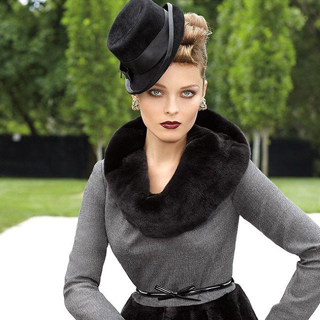 Vintage vibes #blackglama #mink #luxury #fur #americanlegend 📷: Rocco Laspata
