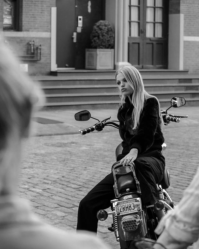 BEHIND THE SCENES // F/W 2017 campaign #blackglama @daphnegroeneveld