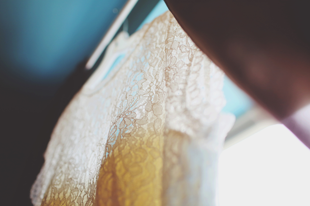Swoon-worthy lace details!