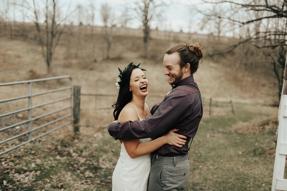 I Z Z Y   +   K U R T - A DREAMY WOODLAND-THEMED WEDDING