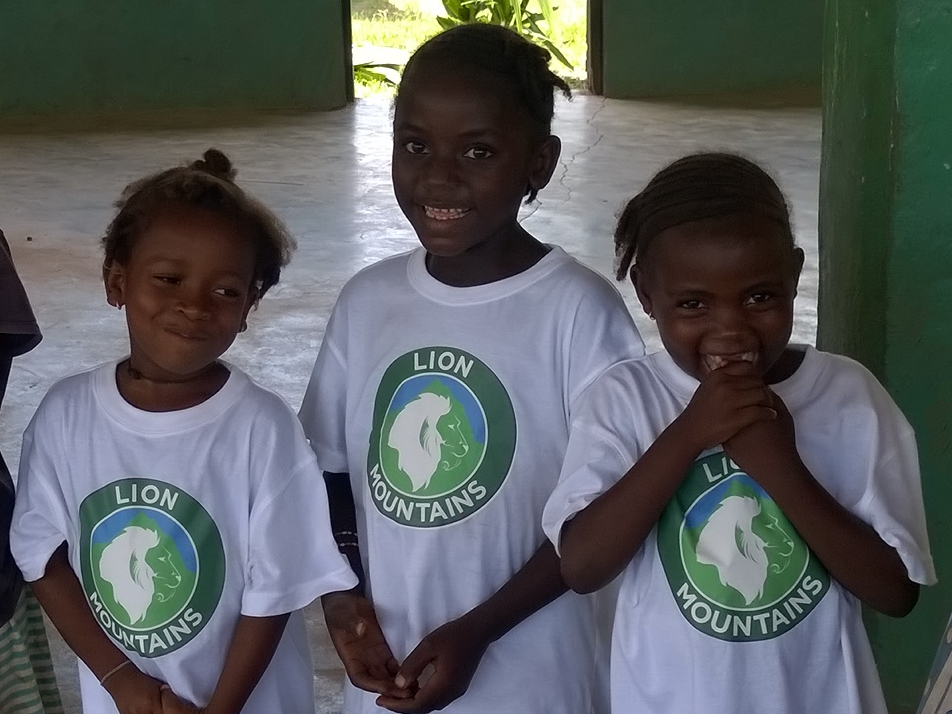 Young supporters in Bumpe Ngao Chiefdom, November 2014.