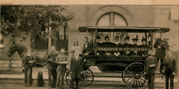 Gospel Carriage Wagon, early 1900s