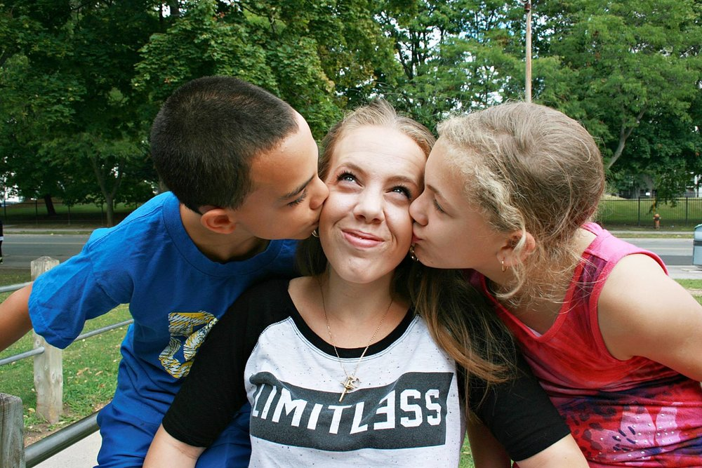 Tylissa and her two kids