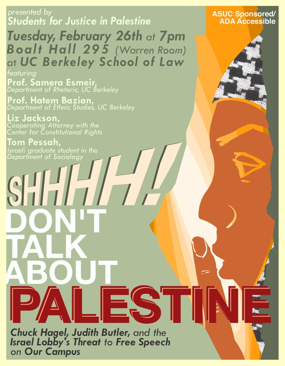 shhh UCB flyer