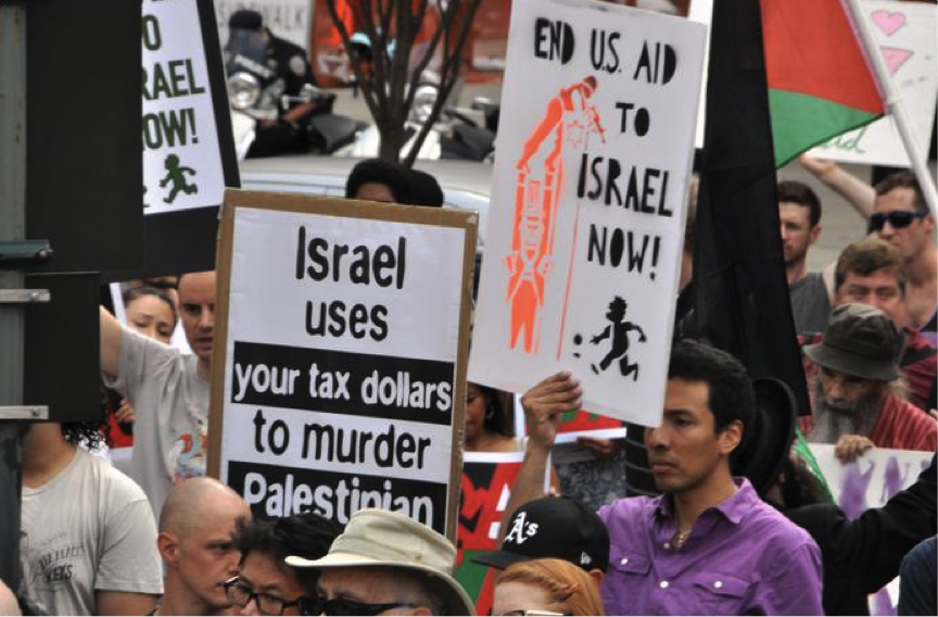New York Gaza Protest 7-24-14