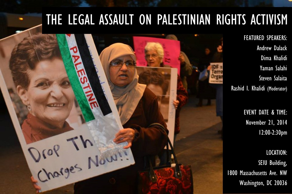 Legal Assault on Palestinian Rights Activism