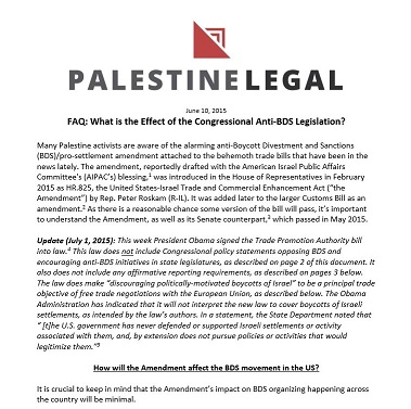 click here for our in-depth faq on the anti-bds provisions of the TPA law