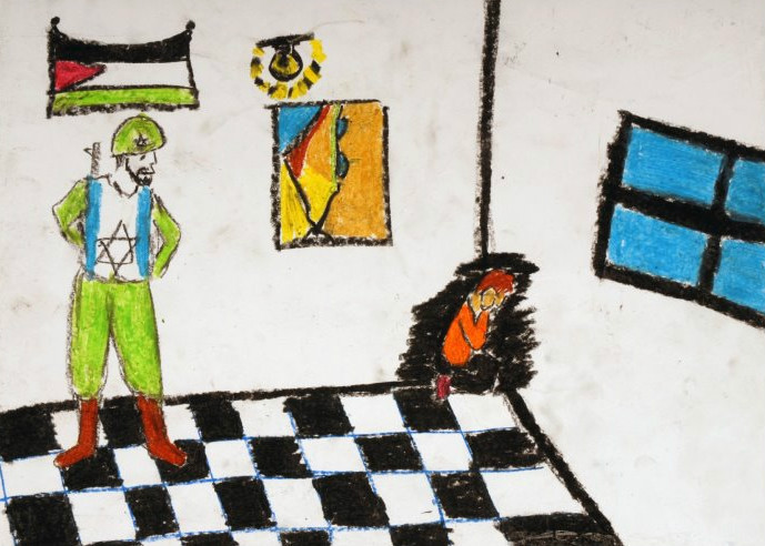 IN SEPTEMBER 2011, THE OAKLAND MUSEUM OF CHILDREN'S ART CANCELED AN EXHIBIT OF PALESTINIAN CHILDREN'S ARTWORK DEPICTING THEIR MEMORIES OF OPERATION CAST LEAD IN GAZA AFTER THE MUSEUM AND ITS FUNDERS CAME UNDER SIGNIFICANT PRESSURE FROM ISRAEL ADVOCACY GROUPS. (Middle east children's alliance)