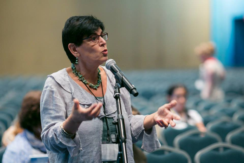 "San Francisco State University Professor Rabab Abdulhadi was forced to defend a research trip to Palestine after an Israel advocacy group accused her of abusing taxpayer funds to meet with ""known terrorists."" (National Women's Studies Association)"