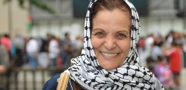 The Department of Homeland Security arrested Chicago civil rights advocate Rasmea Odeh for the rarely prosecuted offense of lying on a naturalization form. (Christine Geovanis)