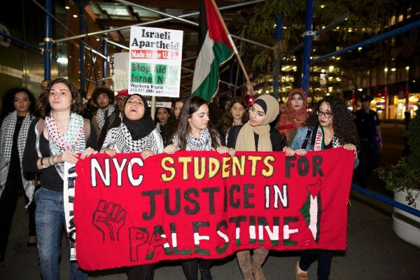 Defending New York Organizers against Calls to Shut Down SJP in New York