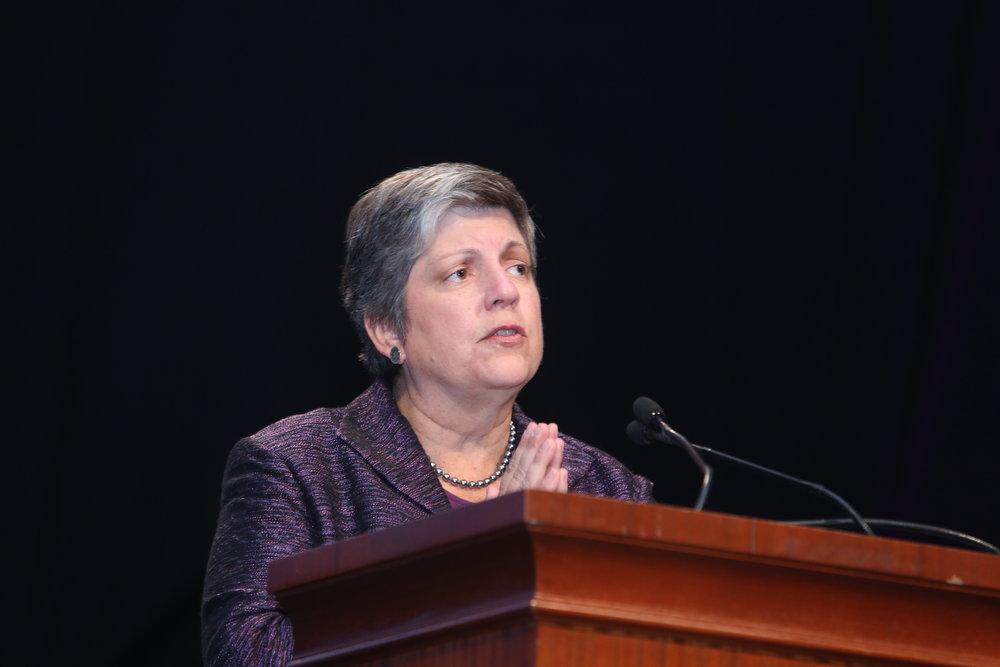 UC President Janet Napolitano. Credit:  ASIS International