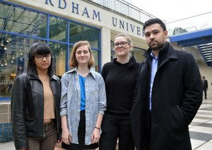 Fordham students are suing the university over its SJP ban. Photo: Fordham Observer