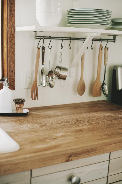 Spring Home Series Diy Farmhouse Wood Countertops