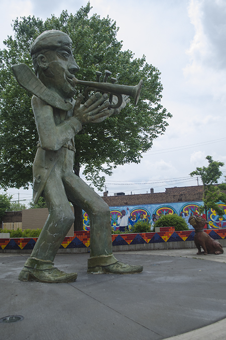 Art & Soul of Buckeye Park, site of this week's public safety summit.