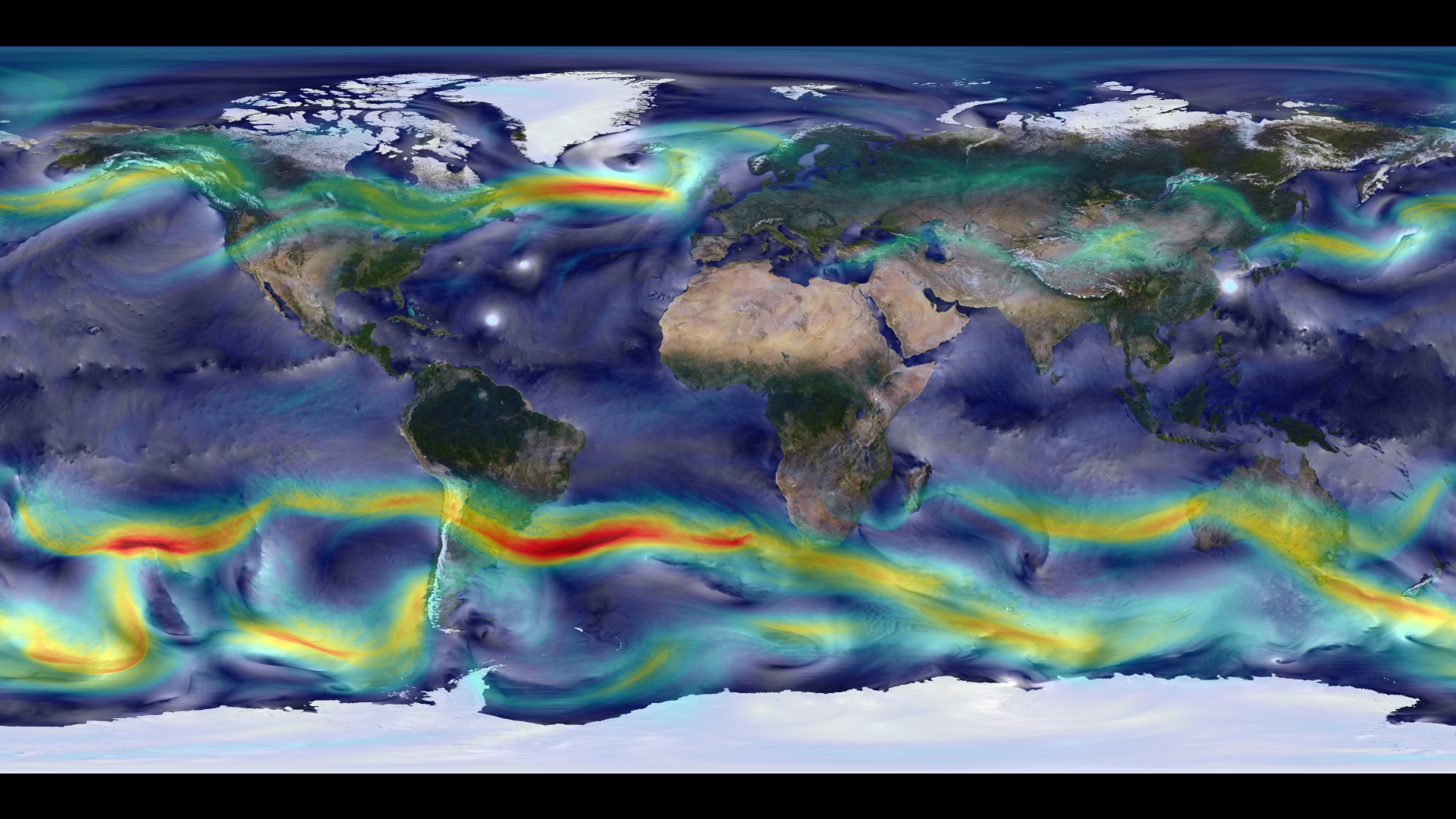 A portrait of global winds. From NASA
