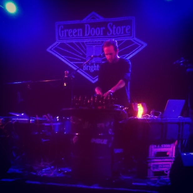 Crewdson and Bambooman respectively, alongside Ilk last night in Brighton. Brilliant lineup and night from Herbert's Accidental label, thoroughly enjoyed it.