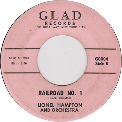 Lionel Hampton – Railroad No.1 [1960, Glad]