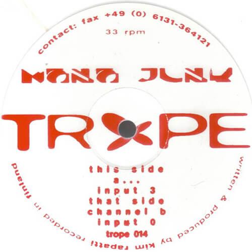 Mono Junk - Channel B [1995, Trope]