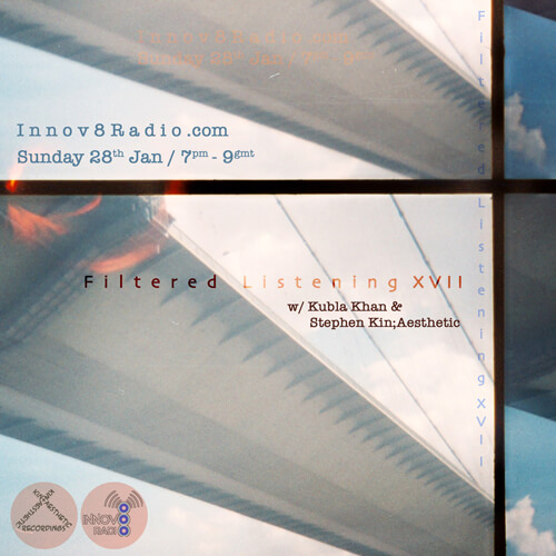 Filtered Listening 17 - Kubla Khan + Stephen Kin;Aesthetic