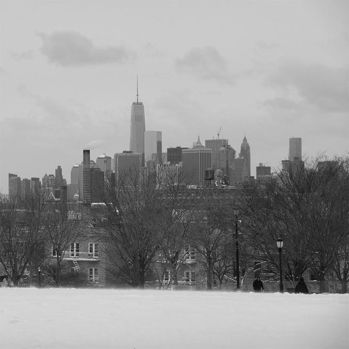 Manhattan from afar