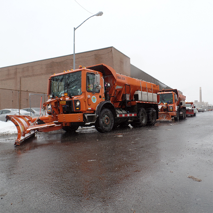 DSNY hard at work