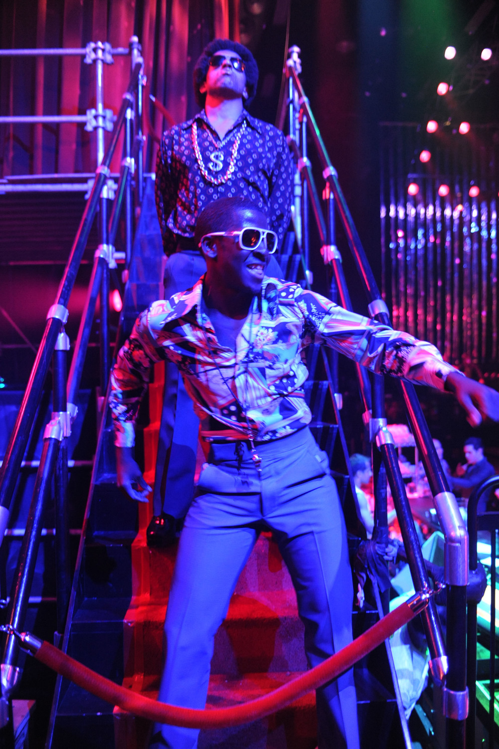 Mauricio Brown as the Doorman and Edson Jean as Eddie in The Donkey Show - photo credit Rodrigo Gaya - Copy.jpg