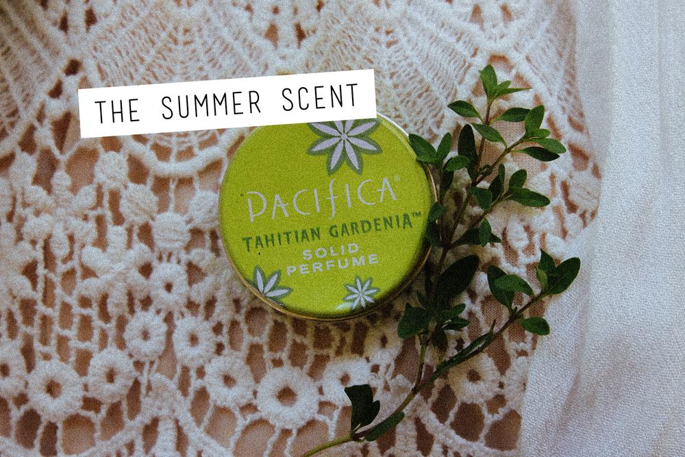 Pacifica   Tahitian Gardenia Solid Perfume